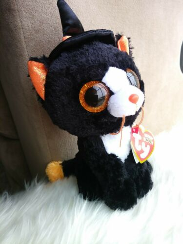 Ty Beanie Boos ~ WITCHIE the Halloween Black Cat 6 Inch 2019 NEW