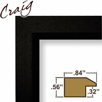 Craig Frames 7171610bk 8.5 By 11-inch Picture/poster Frame, Wood Grain Finish, . on sale