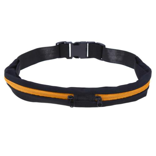 Waterproof Elastic Running Jogging Waist Bag Anti-theft Sports Fanny Pack S1#