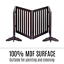 thumbnail 7 - Pet Gate Step Over Dog Gate Freestanding Assembly-Free Puppy Foldable Fence New