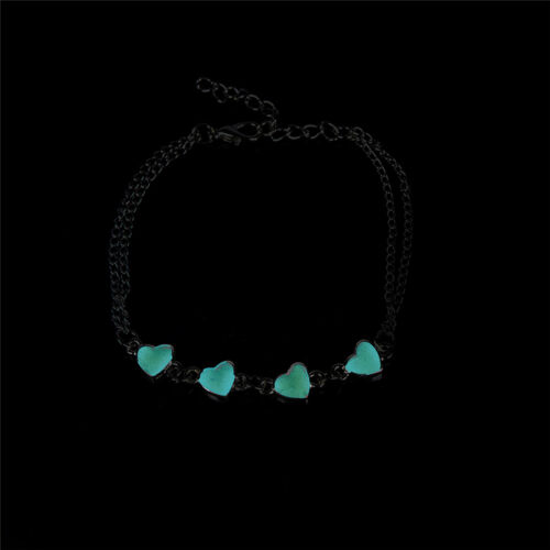 Glow In The Dark Chain Anklet Ankle Bracelet Barefoot Sandal Beach Foot Jewelry/'