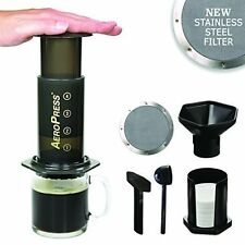 Aerobie Aeropress Coffee Maker Press with Ultra Fine Reusable Coffee Filter