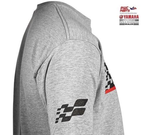Set Ride Tee CRP-16TGP-GY with Racing Design /& Yamaha Logo YAMAHA BRAND Ready