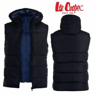 """Blouson Doudoune sans manche à capuche /""""LEE COOPER/"""" gilet veste homme"""