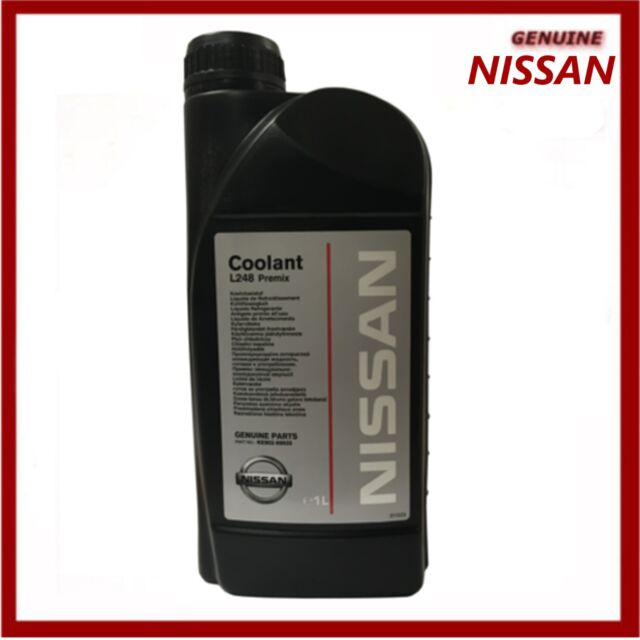 genuine nissan l248 premix coolant antifreeze 1 litre ke90299935 forgenuine nissan l248 premix antifreeze 1 litre coolant