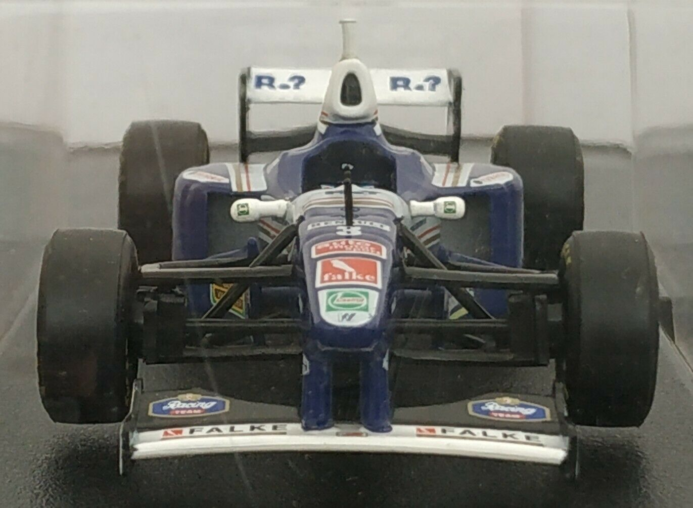 1 43 WILLIAMS RENAULT FW19 1997 F1 FORMULA 1 COCHE DE METAL A ESCALA