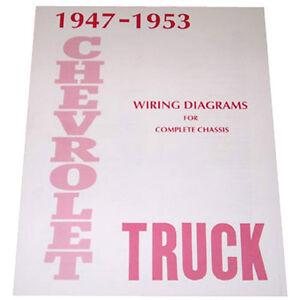 1947 1948 1949 1950 1951 1952 1953 Wiring Diagram Booklet ...