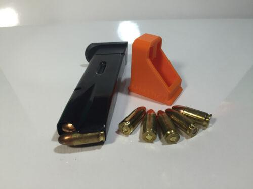 RangeTray Magazine Speed Loader SpeedLoader for CZ75 CZ85 CZ 75 85 9mm 9 ORANGE