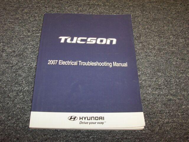 2007 Hyundai Tucson Electrical Wiring Diagram Manual Gls