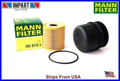 Volvo Oil Filter Housing 1275808 and Oil Filter 1275811 MANN  HU819x