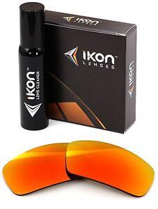 Polarise-Ikon-Rechange-Lentilles-pour-Ray-Ban-RB4034-61MM-Feu-Orange-Miroir