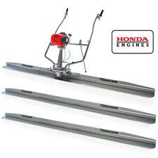 8ft 12ft Amp 14ft Concrete Power Screed Boards 18hp Honda Engine Finishing Tool