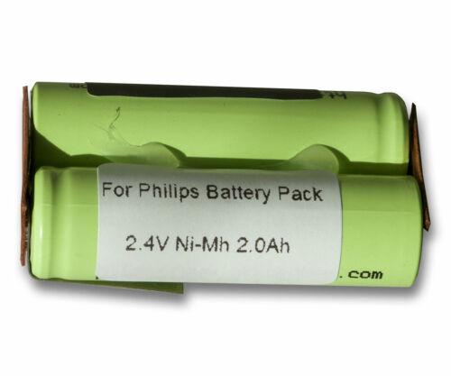 HQ5846 HQ5847 HQ5830 HQ5850 2000mAh NiMh Akku für Philips Philishave HQ5826