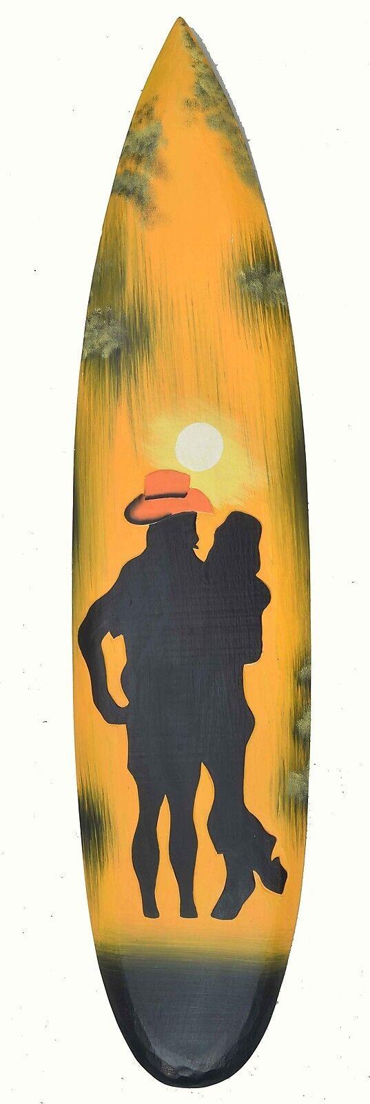 Surfboard Sunset Tribal Style Surf Board 100cm bar or Lounge Decoration