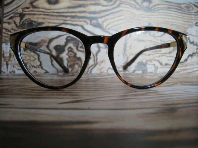 c1de97c23d Brown Tortoise Shell Patten Cats-eye Geek Nerd Retro Vintage Glasses 60s 80s