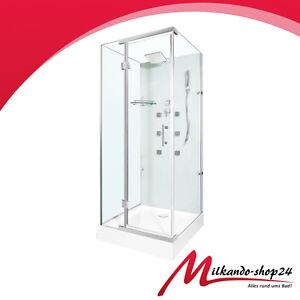 duschtempel fertigdusche duschkabine echt glas eck komplett dusche 90x90 eckig ebay. Black Bedroom Furniture Sets. Home Design Ideas