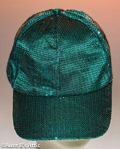 aa9138fd Baseball Cap Green Sequin Hat St. Patrick's Day Irish Novelty ...