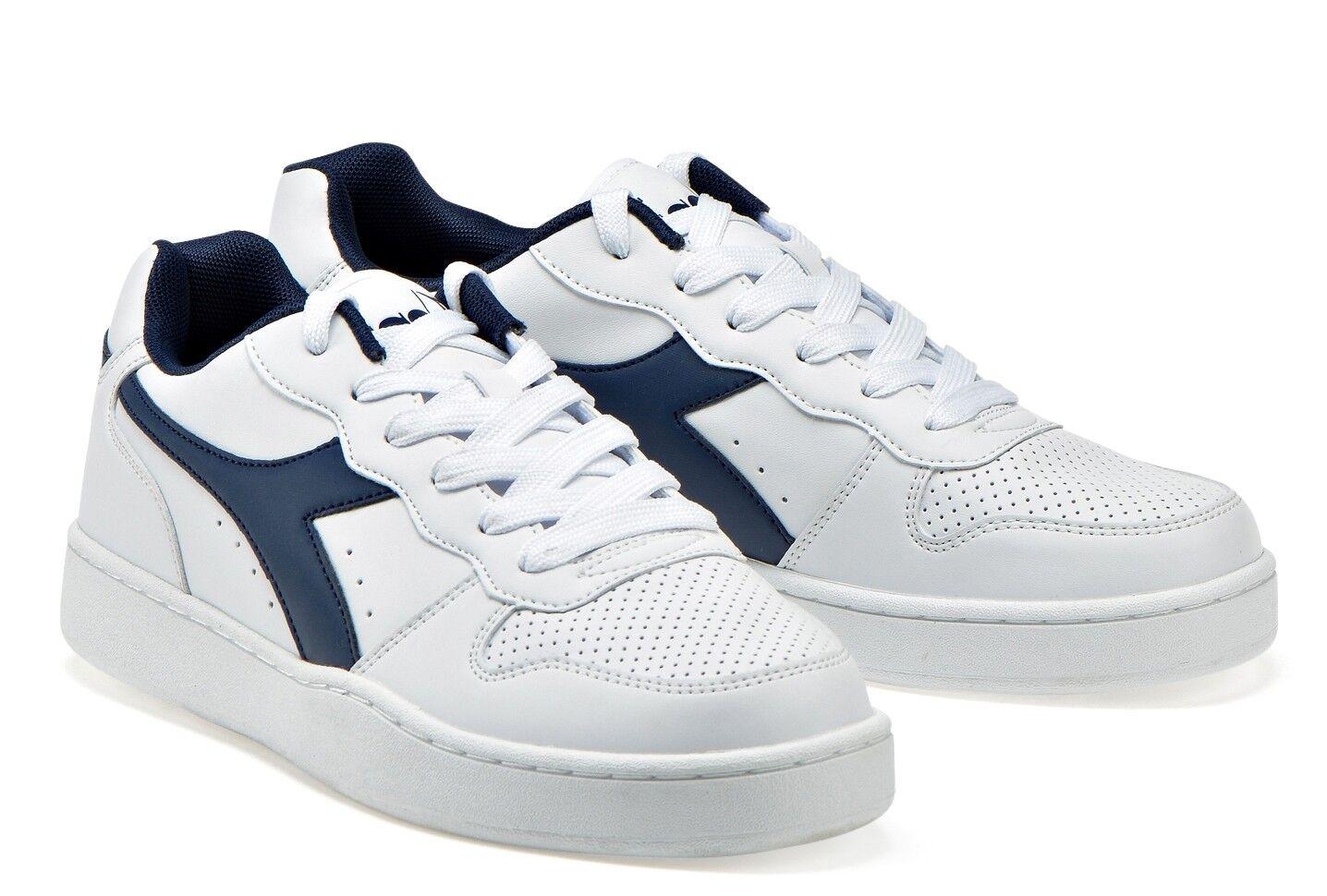 Diadora Playground Gs Women's shoes Stan Sports Smith Sneakers Leather White