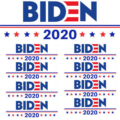 Joe Biden Kamala Harris For President 3.5x8 Vinyl Bumper Sticker Bs