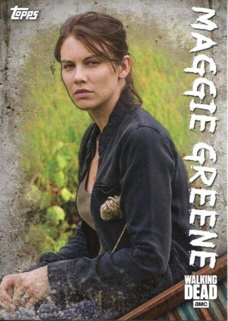 Walking Dead Season 5 Profiles Chase Card C-5 Glenn Rhee