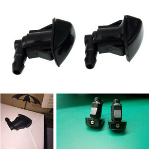 Image Is Loading  Pcs Front Windshield Washer Nozzle Kit For