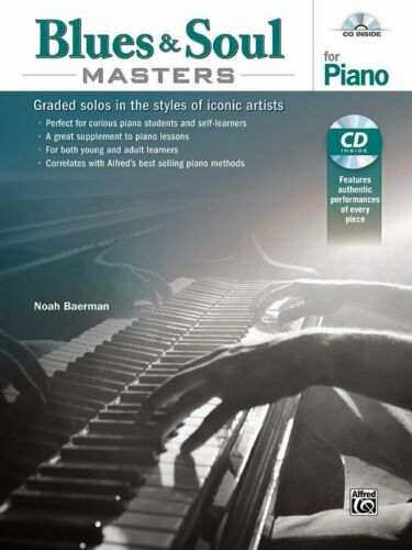 Blues and Soul Masters for Piano Graded Solos in the Styles of Iconic Artists