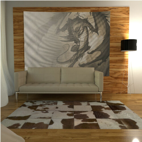 Fantasy Dragon Wall Hanging Tapestry Psychedelic Bedroom Home Decoration