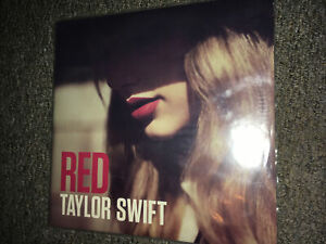 TAYLOR-SWIFT-RED-DOUBLE-Album-VINYL-LP-Like-New-SEALED-Great-Condition
