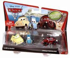 Disney Pixar Cars 2 Die Cast 3 pack Luigi & Guido & Uncle Topolino V2837  NEW