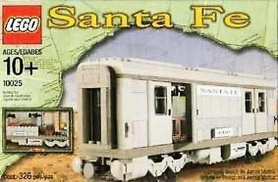 Lego Train 10025 Santa Fe Bagage bil NY