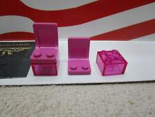 1 LEGO HARRY POTTER TAN WINDOW WITH BROWN LATTICE SET 4728 PART #s 3853//2529