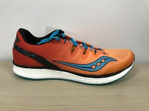 Details about Saucony Freedom ISO Men's Running Shoes Size US 9 M Orange Red S20355 8