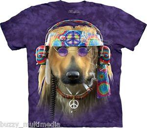 Groovy-Peace-Dog-Shirt-Mountain-Brand-In-Stock-Hippie-novelty-tee-sm-5X