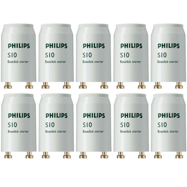 Philips S10 Fluorescent Universal Starter 10 Pack