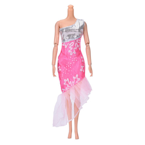 """Fashion Beautiful Handmade Party Clothes Dress for 9/""""    Doll Mini Best HF"""