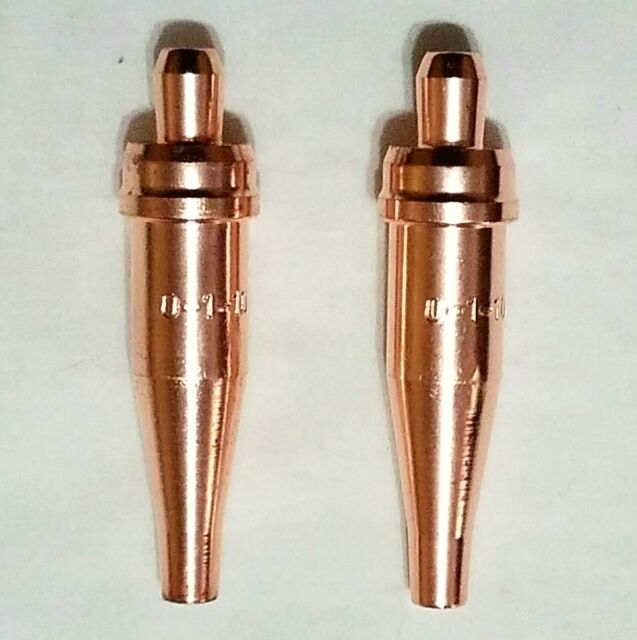 0-1-101 Victor Acetylene Cutting Torch Tips New Pack of 2