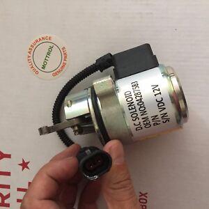 Fuel Shut-Off Solenoid 0428-7583 In USA Deutz 0428-7116 For Deutz 1011 and 2011 Engines Replaces