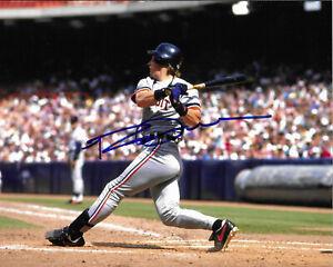 ROB DEER Autographed Signed 8 x 10 Baseball Photo Detroit Tigers COA