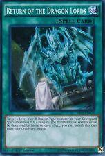 RETURN OF THE DRAGON LORDS -(SR02-EN025)- Super Rare 1st Edition - YuGiOh