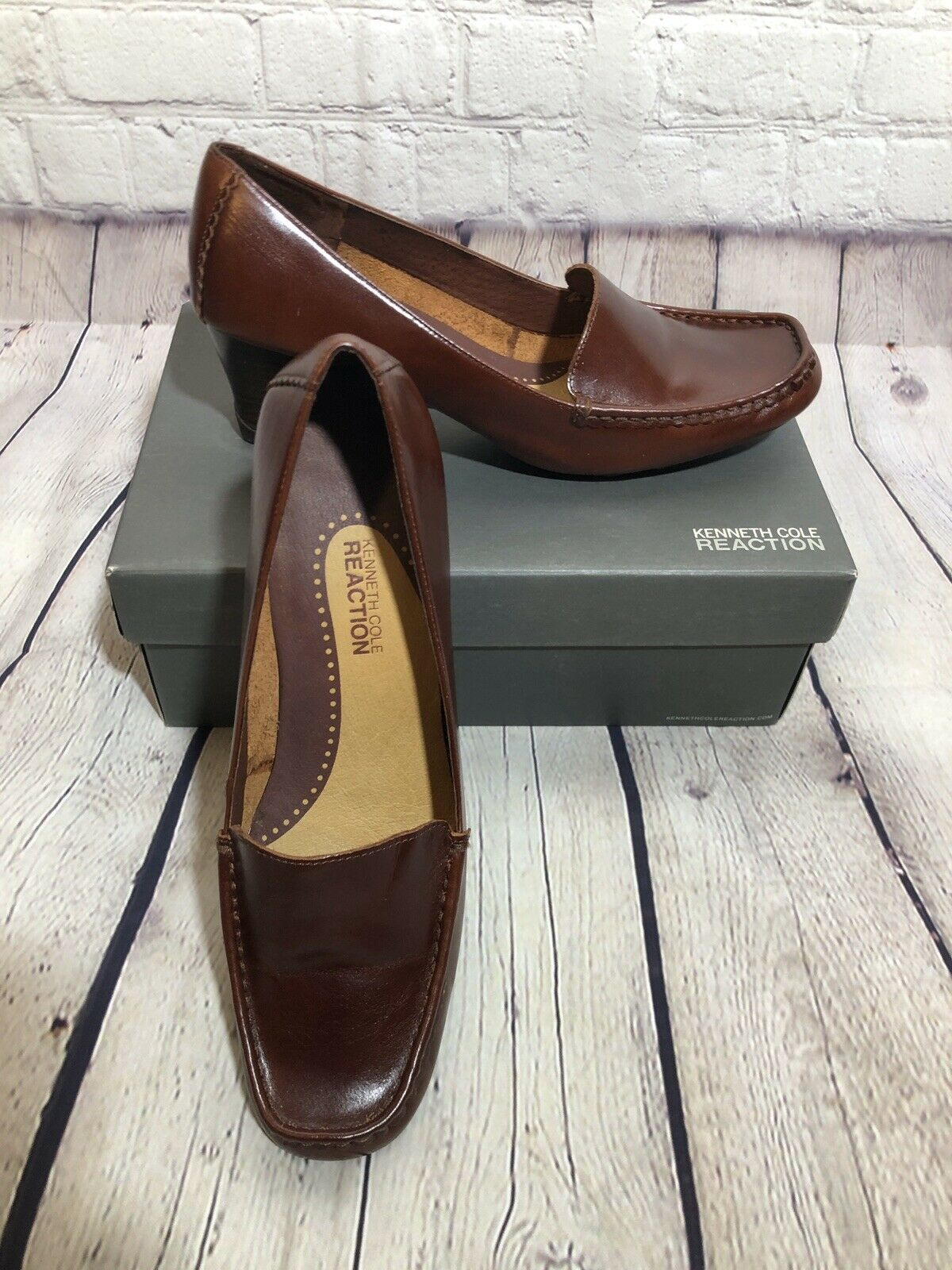 Kenneth Cole Reaction Brown Casual Woman Shoes