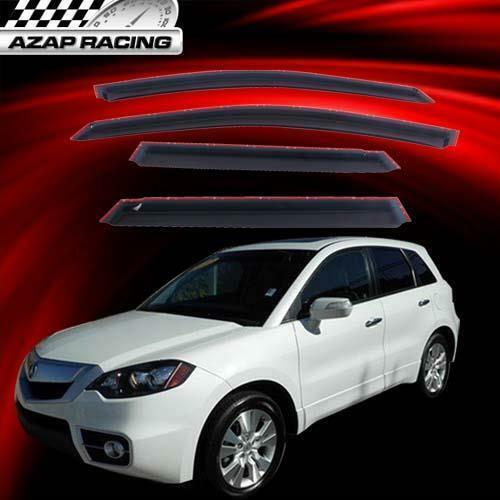Fits 07-12 Acura RDX Slim Acrylic Window Visors 4Pc