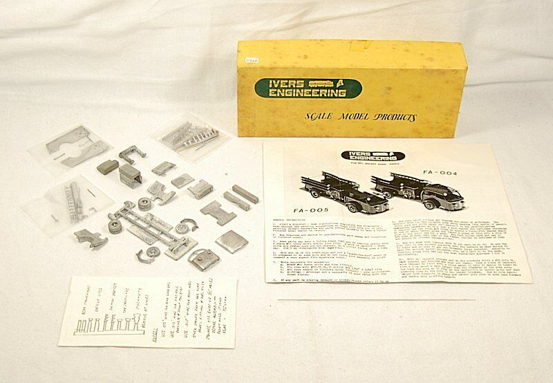 AMERICAN LAFRANCE Pumper Sparton 700 FULL-CAB-Ivers Engineering KIT fa-004