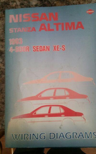 1993 Nissan Stanza Altima Wiring Diagrams