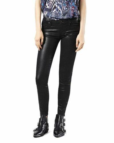 Jeans donna Super Skinny Fit DIESEL Skinzee-Low-Zip 0677A nero W30 L32  ITA 44
