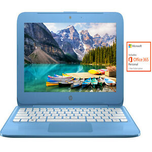 HP-11-6-034-HD-Intel-N3060-4GB-32GB-eMMC-Win-10-Blue-Streambook-1-Year-Office-365