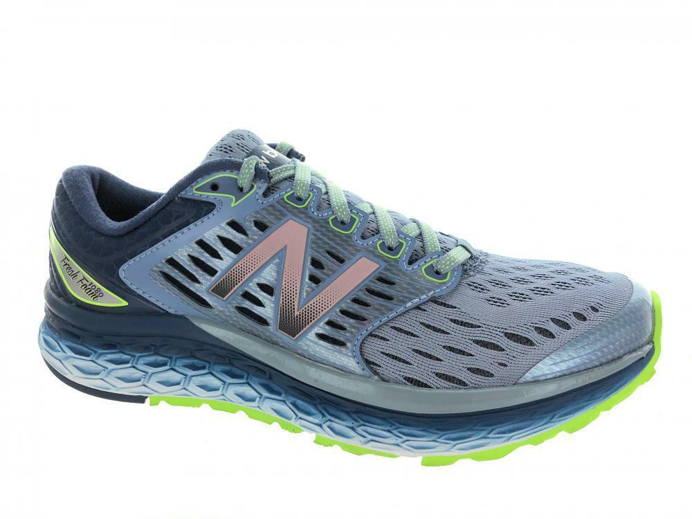 Men's New Balance Fresh Foam 1080 M1080GG6 Running shoes blueee Grey Lime Green