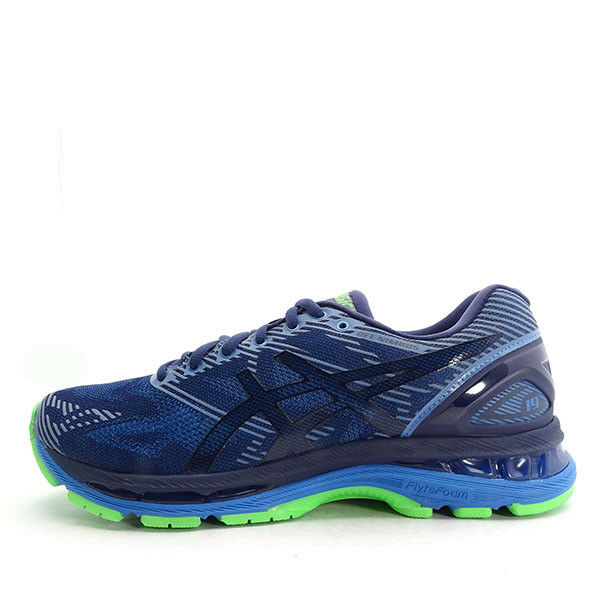 Asics GEL-Nimbus 19 Lite-Show [T7C3N-4943] Men Running shoes Navy blueee-Green