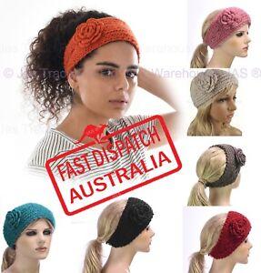dcb7bafac96 Crochet Knit Knitted Headband Head Hair Band Ear Warmer Knitted ...