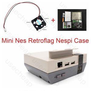 mini nes retroflag nespi case designed for raspberry pi 3 2and b game diy fan ebay. Black Bedroom Furniture Sets. Home Design Ideas
