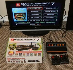 Atari Flashback 7 Deluxe Game Console Special Edition 101 Games In